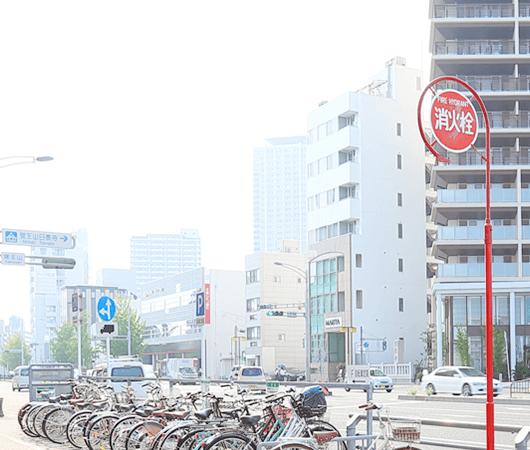 駅近く・駐車場完備 アクセスが便利