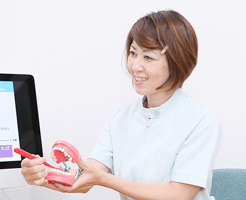 歯ブラシ指導の徹底