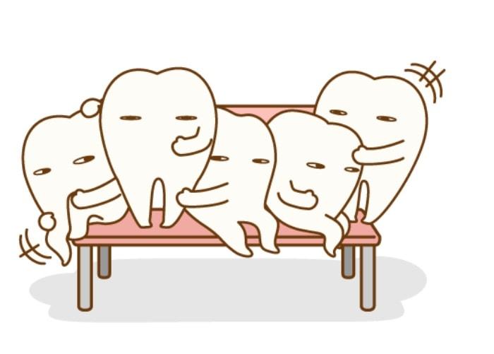 抜歯を連想させる歯