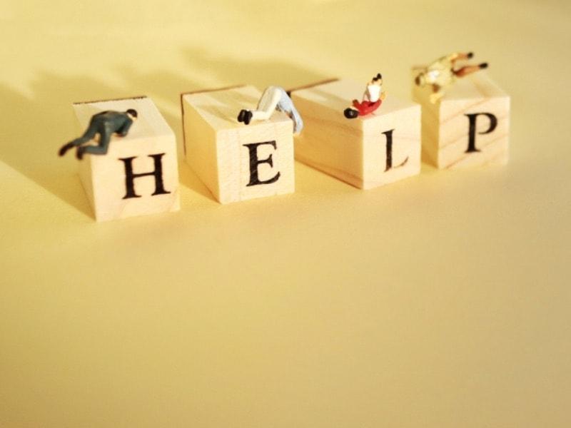 保険証が必要かを助けを求めていることがイメージできる画像